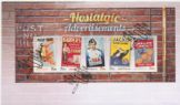19/08/2014 Australia FDC Nostalgic Advertisements miniature sheet